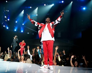 LOS ANGELES, CA - JUNE 28:  Recording artist Diddy performs onstage during the 2015 BET Awards at the Microsoft Theater on June 28, 2015 in Los Angeles, California.  (Photo by Christopher Polk/BET/Getty Images for BET)