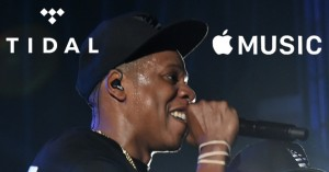 NEW YORK, NY - MAY 17: Jay-Z (L) and Memphis Bleek perform during TIDAL X: Jay-Z B-sides in NYC on May 17, 2015 in New York City. (Photo by Theo Wargo/Getty Images for Live Nation)