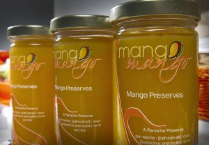Mango preserves created by Simply Panache, LLC.